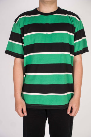 CLASSIC STRIPE IN GREEN/BLACK