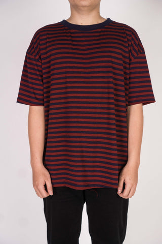 CLASSIC STRIPE IN MAROON/NAVY