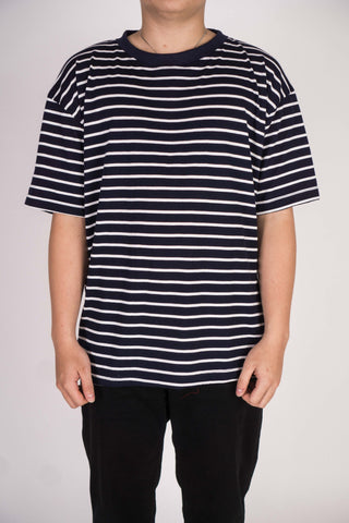 CLASSIC STRIPE IN WHITE/NAVY