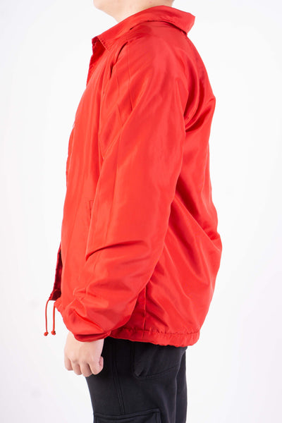 COACH JACKET IN RED