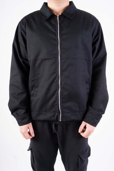 TWILL JACKET IN BLACK