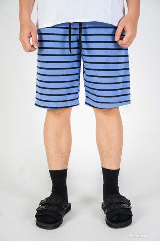 BASIC STRIPE SHORT IN BLUE