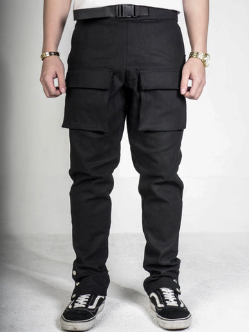 FR0NT POCKET CARGO PANTS