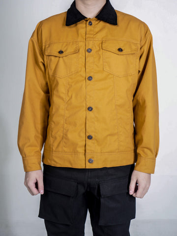 VINTAGE TRUCKER JACKET - MUSTARD GOLD