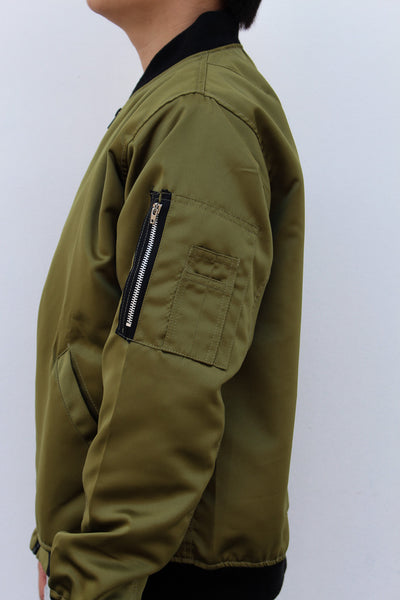 MA1 Bomber in Olive Green