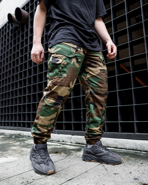 TACTICAL CAMOU CARGO PANTS (10 POCKETS)