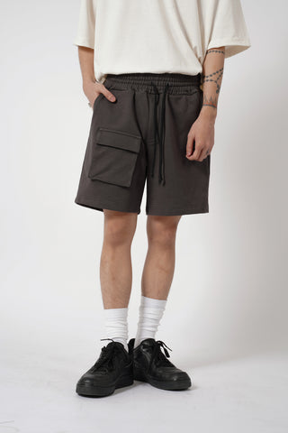 HEAVYWEIGHT FRONT POCKET SHORT - DARK GRAY