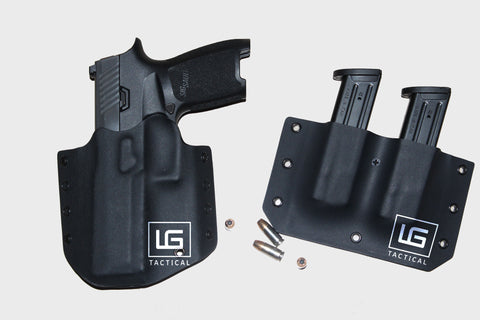 Holster & Mag Carrier Combo