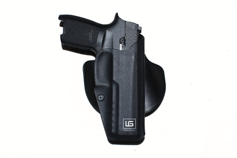 IWB Taco Holster with Paddle Clip