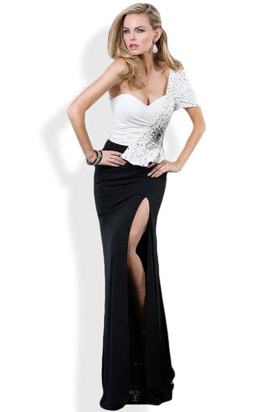 Jovani 73031 - One Shoulder Gown & Cocktail Dress | Cali Couture