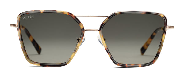 LOGAN Classic Tortoise & Rose Gold
