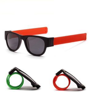 Slap Bracelet Wristband Sunglasses