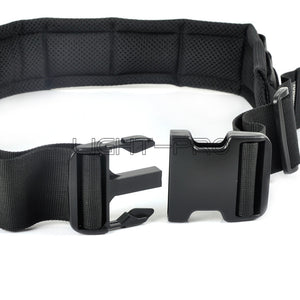 DSLR Padded Camera Waist Belt Lens Bag Holder