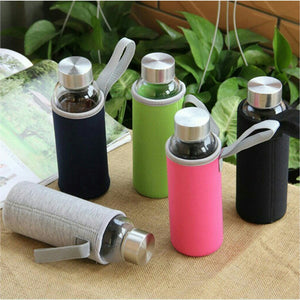 Portable Water Glass  Bottle