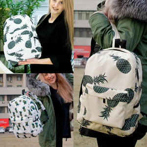 Pineapple Backpack Laptop Rucksack