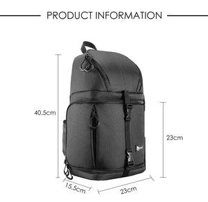 Soft Unisex Backpacks for Canon Nikon Sony DSLR