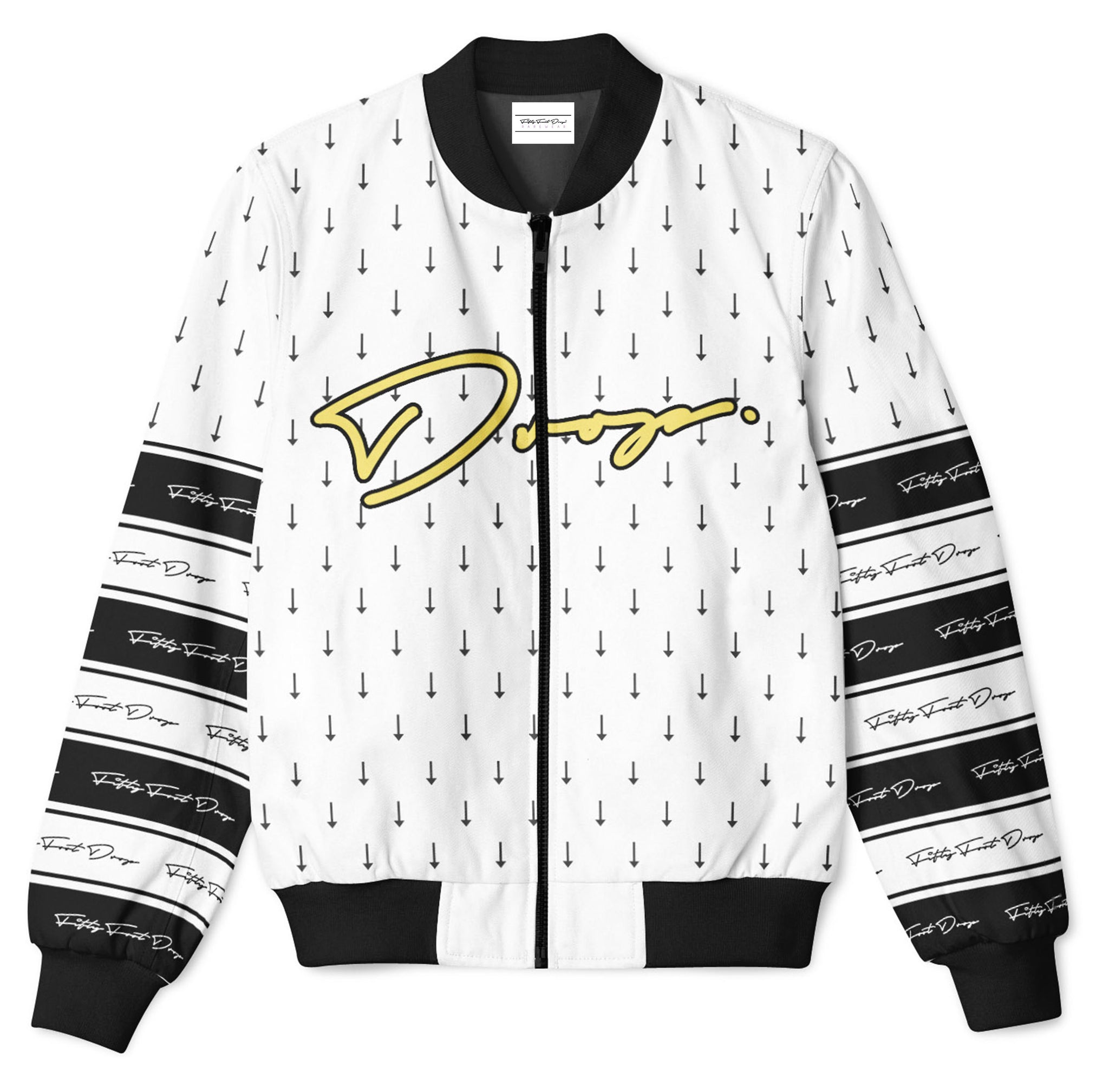 DROP. 2 - FIFTY FOOT DROP - BOMBER JACKET  Fifty Foot Drop  fresh-on-road.myshopify.com Fifty Foot Drop