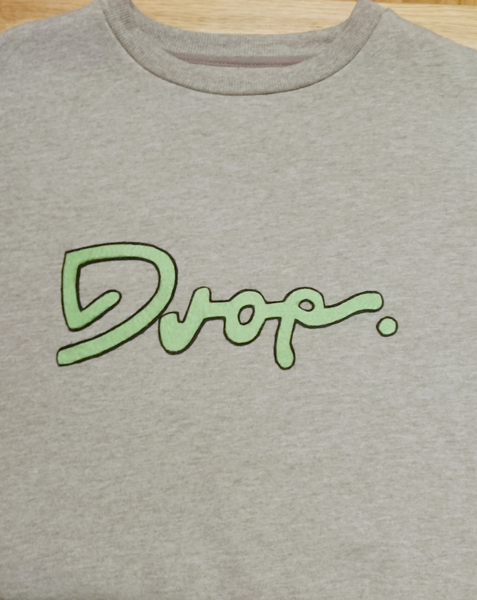Drop - Grey Sweater - XL  Fifty Foot Drop  fresh-on-road.myshopify.com Fifty Foot Drop