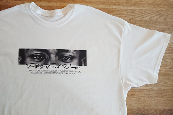 MOS DEF - WHITE TEE  Fifty Foot Drop  fresh-on-road.myshopify.com Fifty Foot Drop
