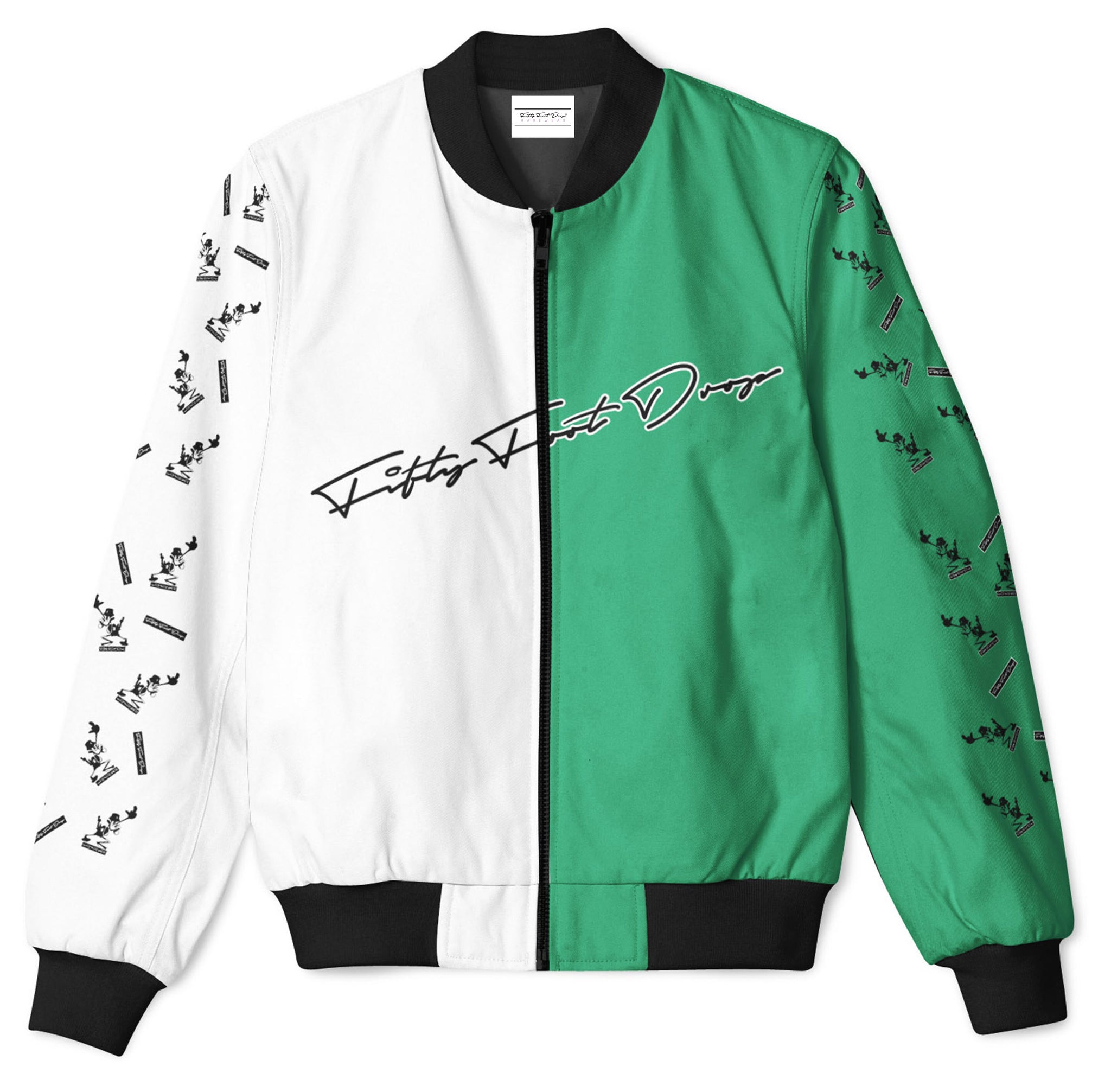 DUCK YOU - FIFTY FOOT DROP - BOMBER JACKET  Fifty Foot Drop  fresh-on-road.myshopify.com Fifty Foot Drop