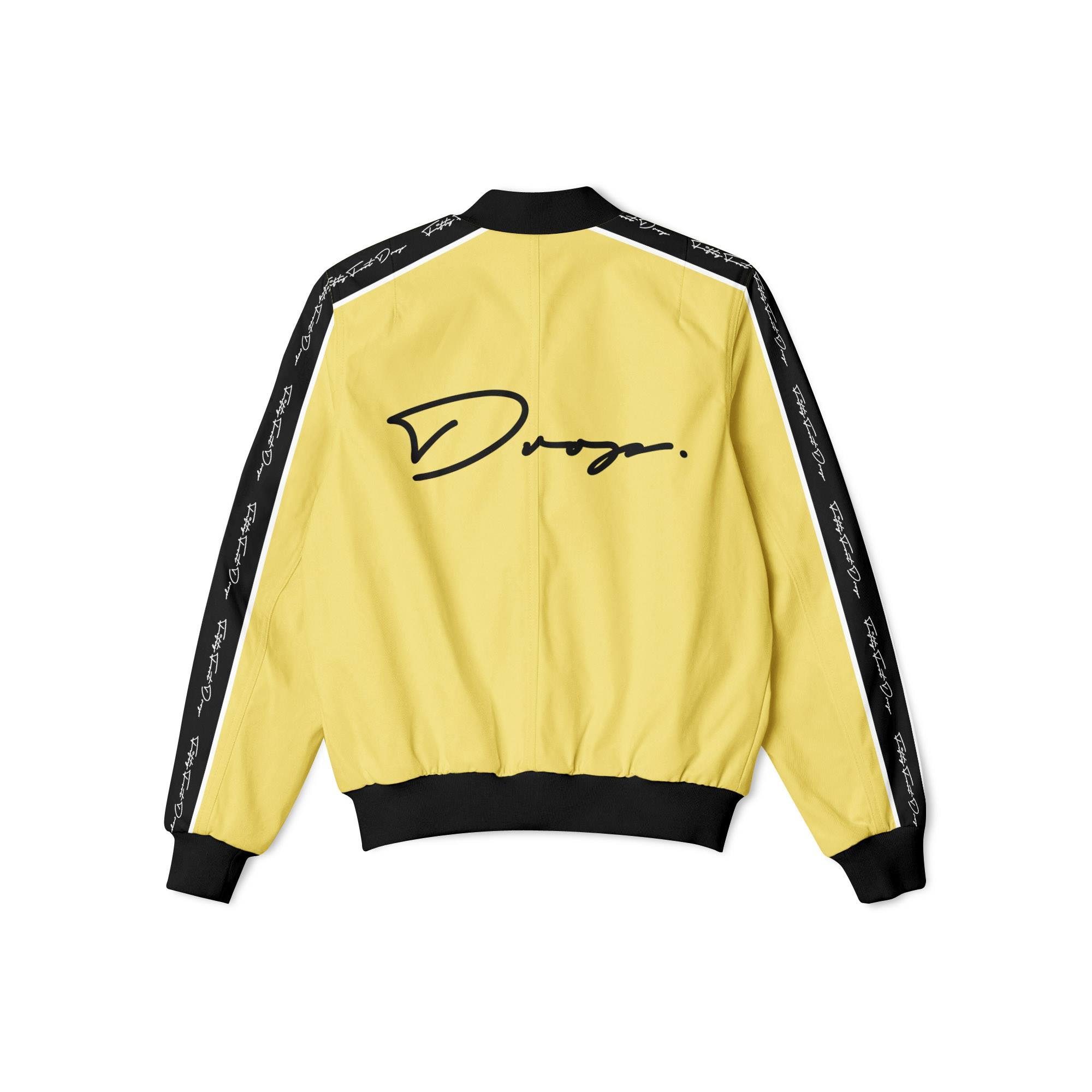 FIFTY FOOT DROP - YELLOW BOMBER JACKET