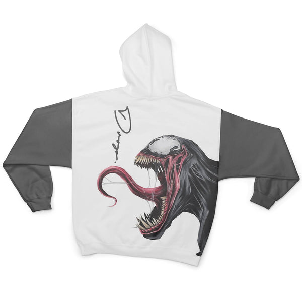 VENOM - FIFTY FOOT DROP - SUBLIMATION HOODIE