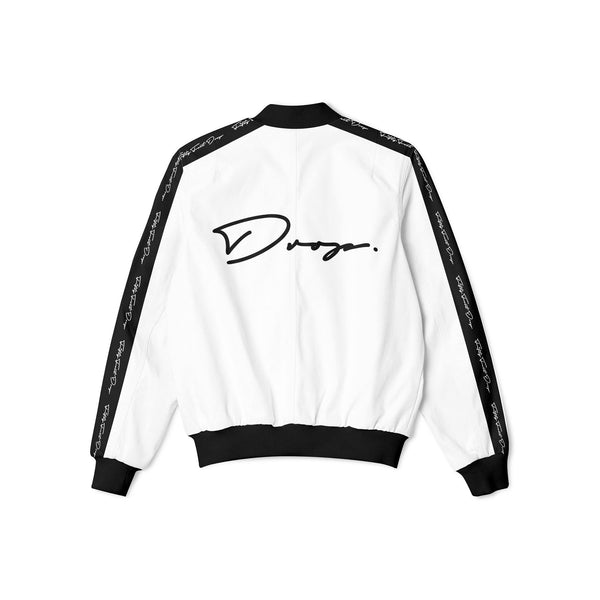 FIFTY FOOT DROP - WHITE BOMBER JACKET
