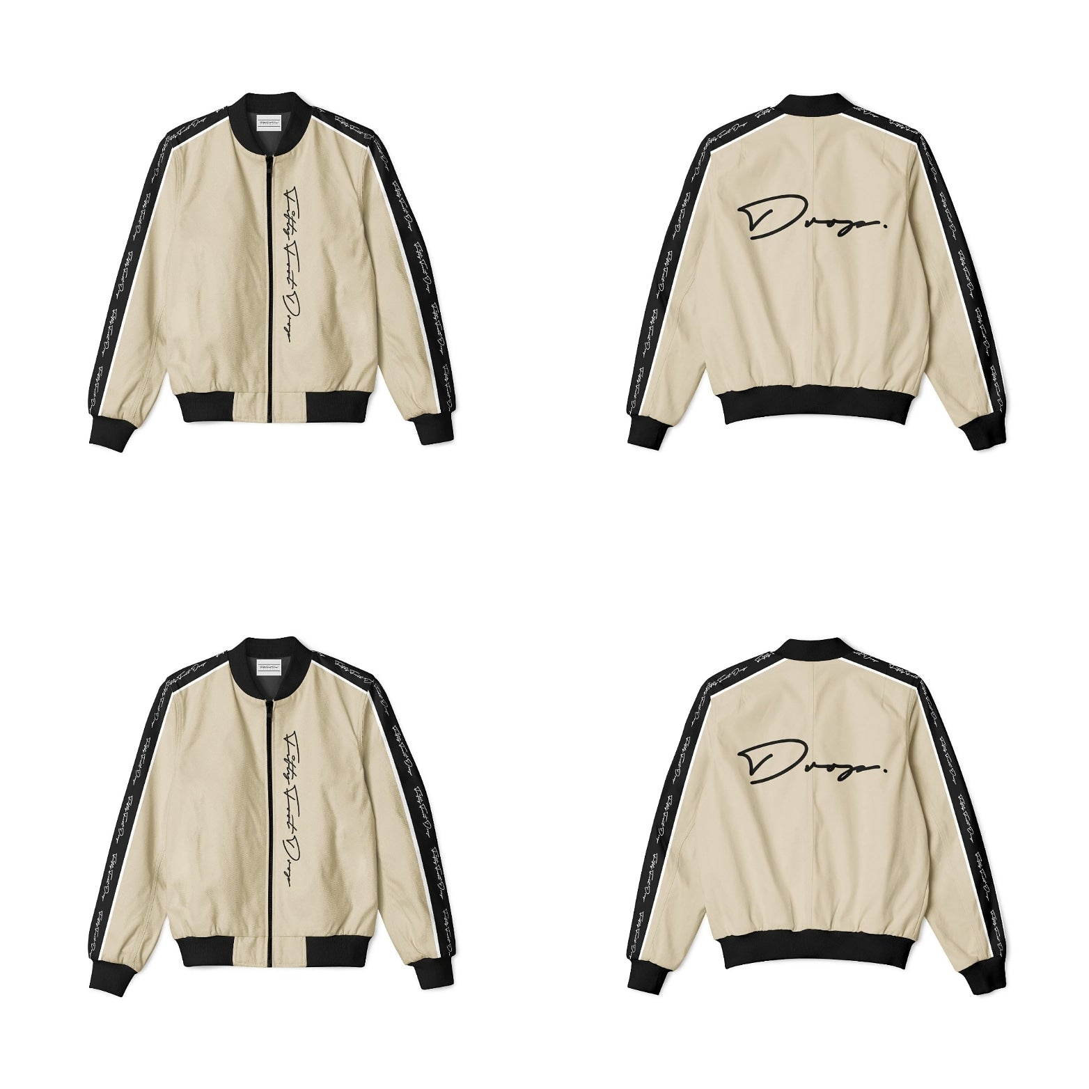 FIFTY FOOT DROP - SAND BOMBER JACKET