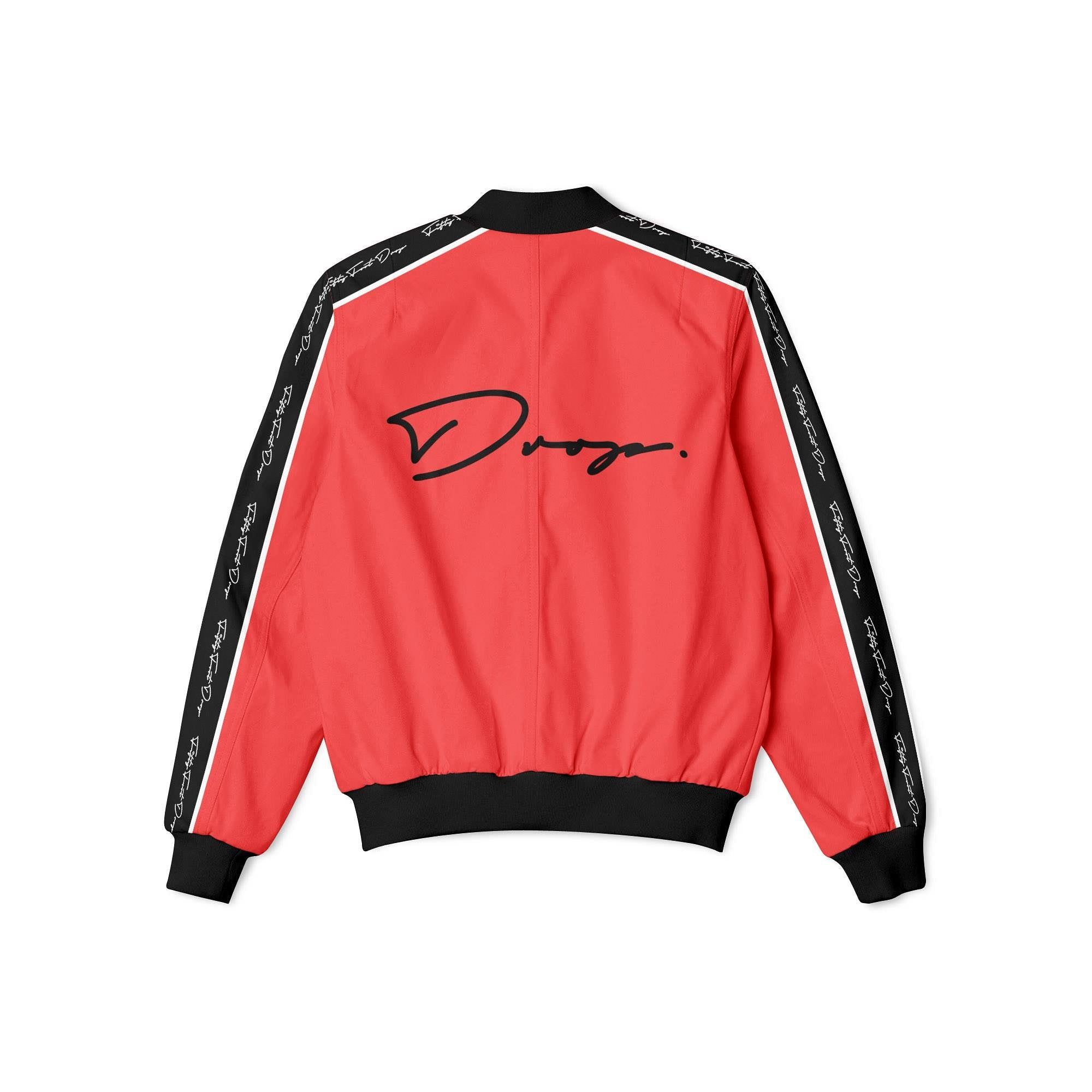 FIFTY FOOT DROP - RED BOMBER JACKET
