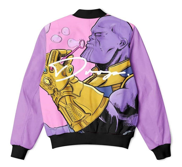THANOS - FIFTY FOOT DROP - BOMBER JACKET