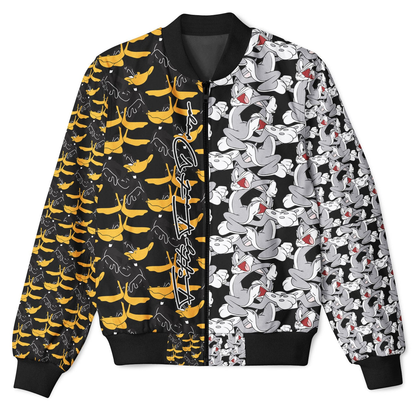 LOONEY MASH UP - FIFTY FOOT DROP - BOMBER JACKET  Fifty Foot Drop  fresh-on-road.myshopify.com Fifty Foot Drop