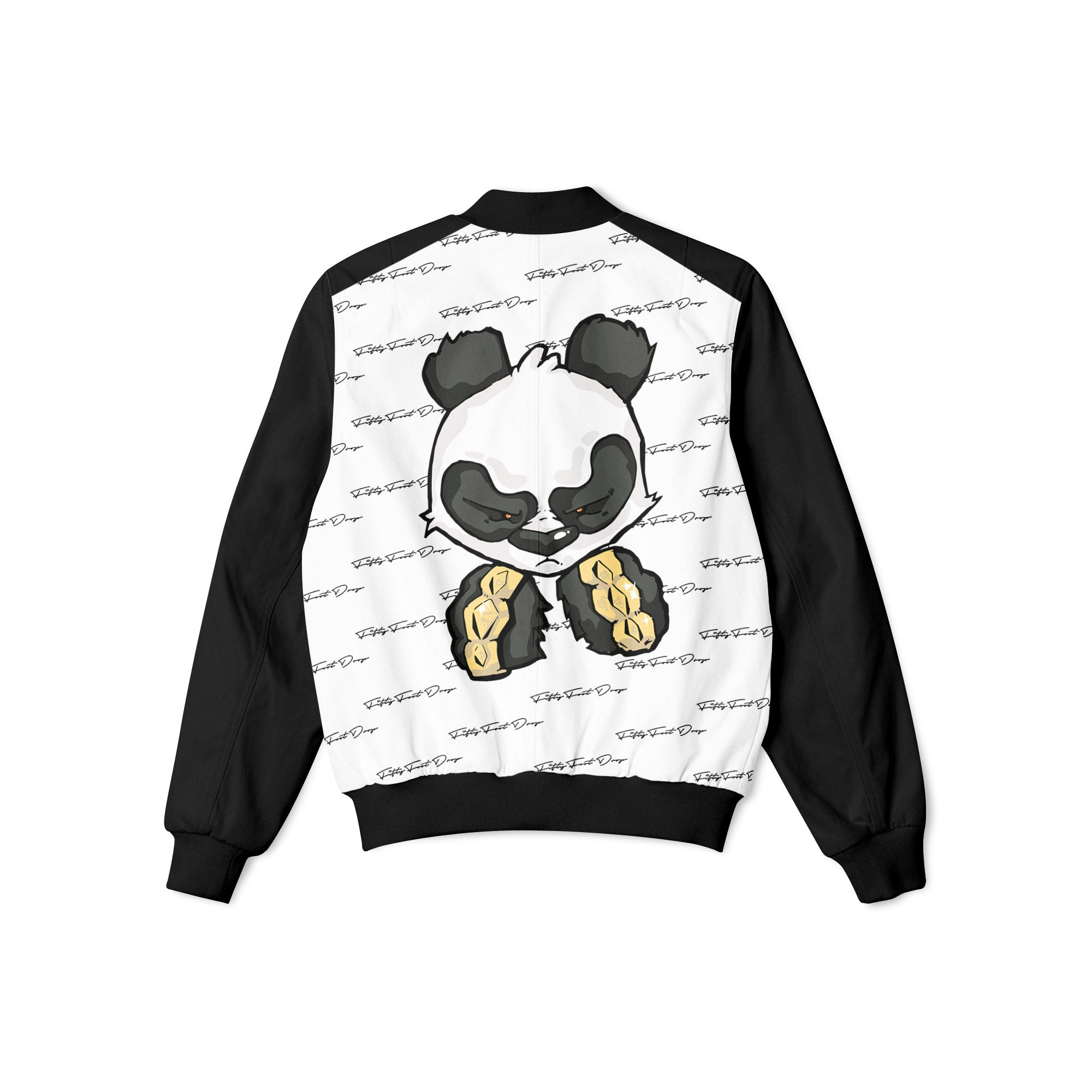 Custom Panda Jacket & Bag  Fifty Foot Drop  fresh-on-road.myshopify.com Fifty Foot Drop