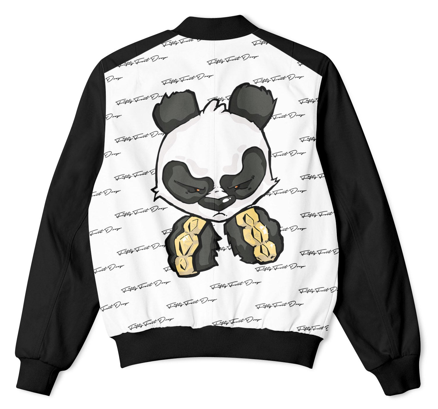 PANDA POWER - FIFTY FOOT DROP - BOMBER JACKET