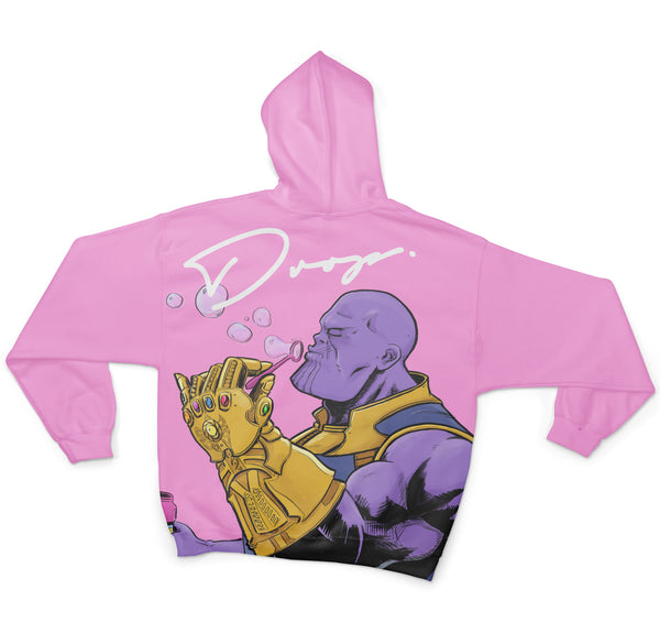 THANOS - FIFTY FOOT DROP - SUBLIMATION HOODIE