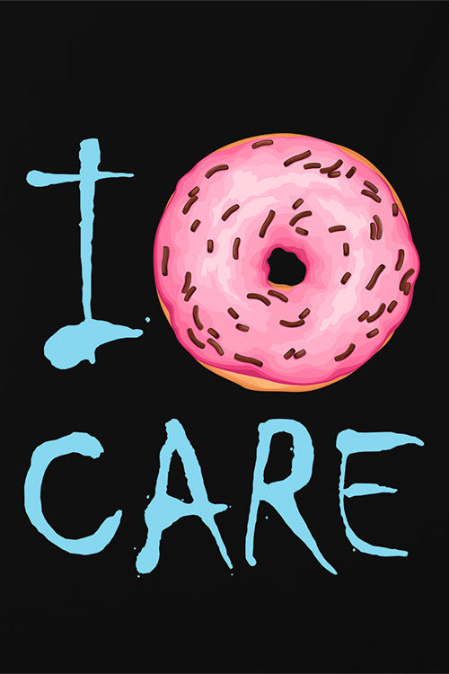 I Donuts Care T-Shirt