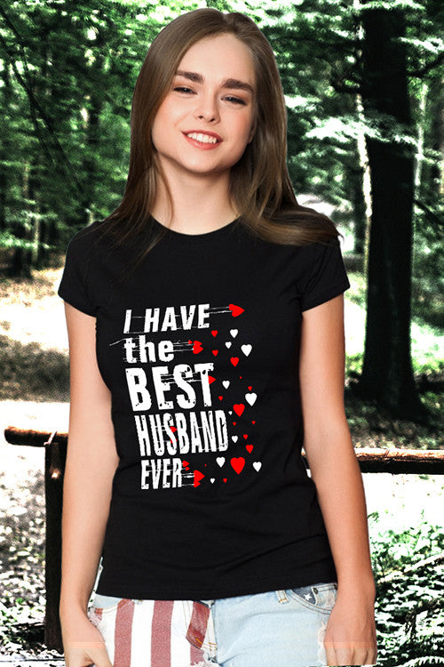 I Have the best husband & wife Couple T Shirt