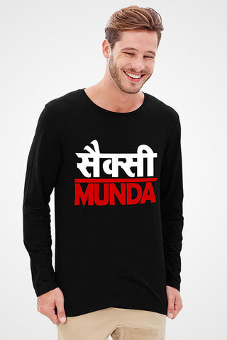 Sexy Munda Full Sleeve T-Shirt
