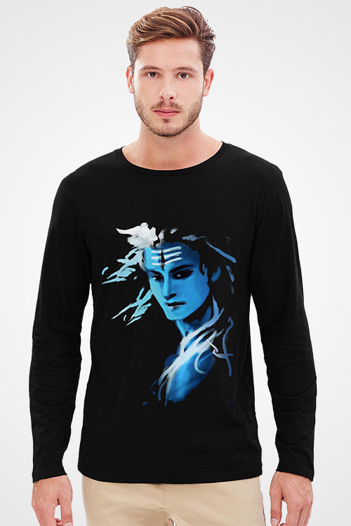 Shiva Nilkanth Full Sleeve T-Shirt