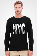 New York City Full Sleeve T-shirt
