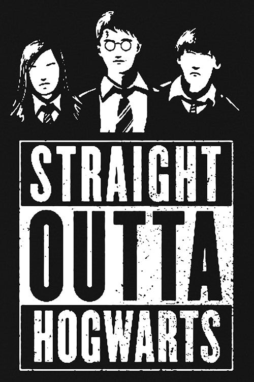 Straight Outta Hogwarts T-Shirt