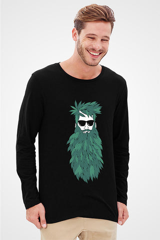 Beard Full Sleeve T-Shirt