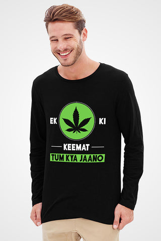 Weed Full Sleeve T-Shirt