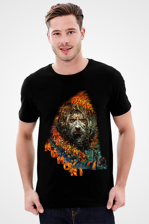 Buy Aghori Baba  T-Shirt For Mens Online Shopping