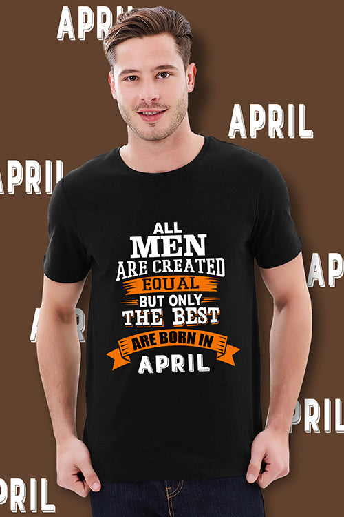 April Birthday T-Shirt