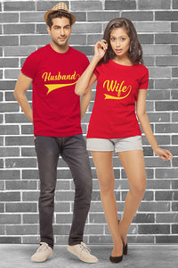 Husband Wife Couple Tees