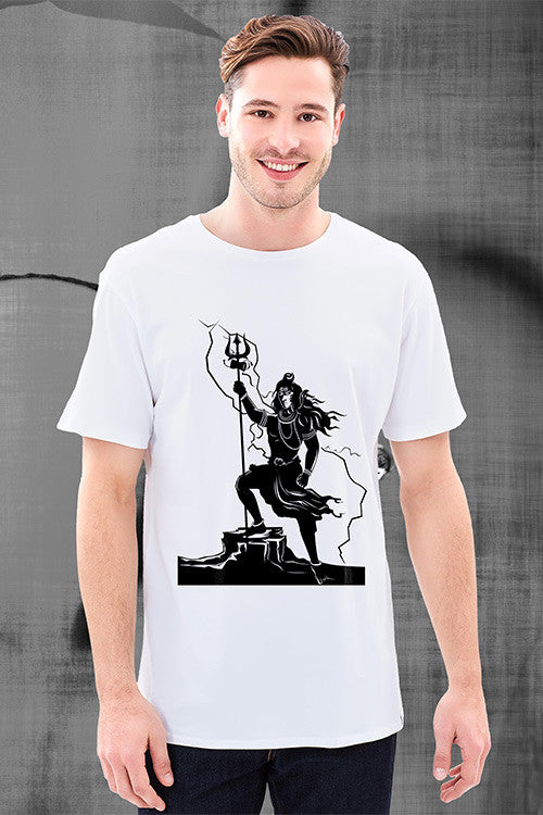 Shiva's White T-Shirt