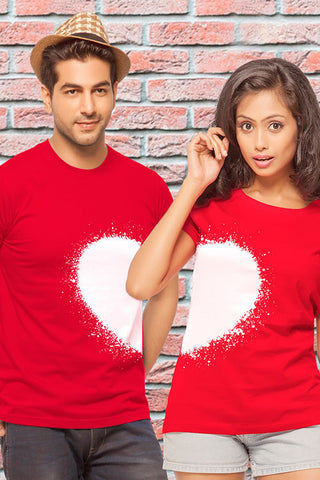 Heart Couple T Shirt