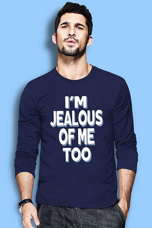 i'm jealous of me too (Blue Full)T Shirt