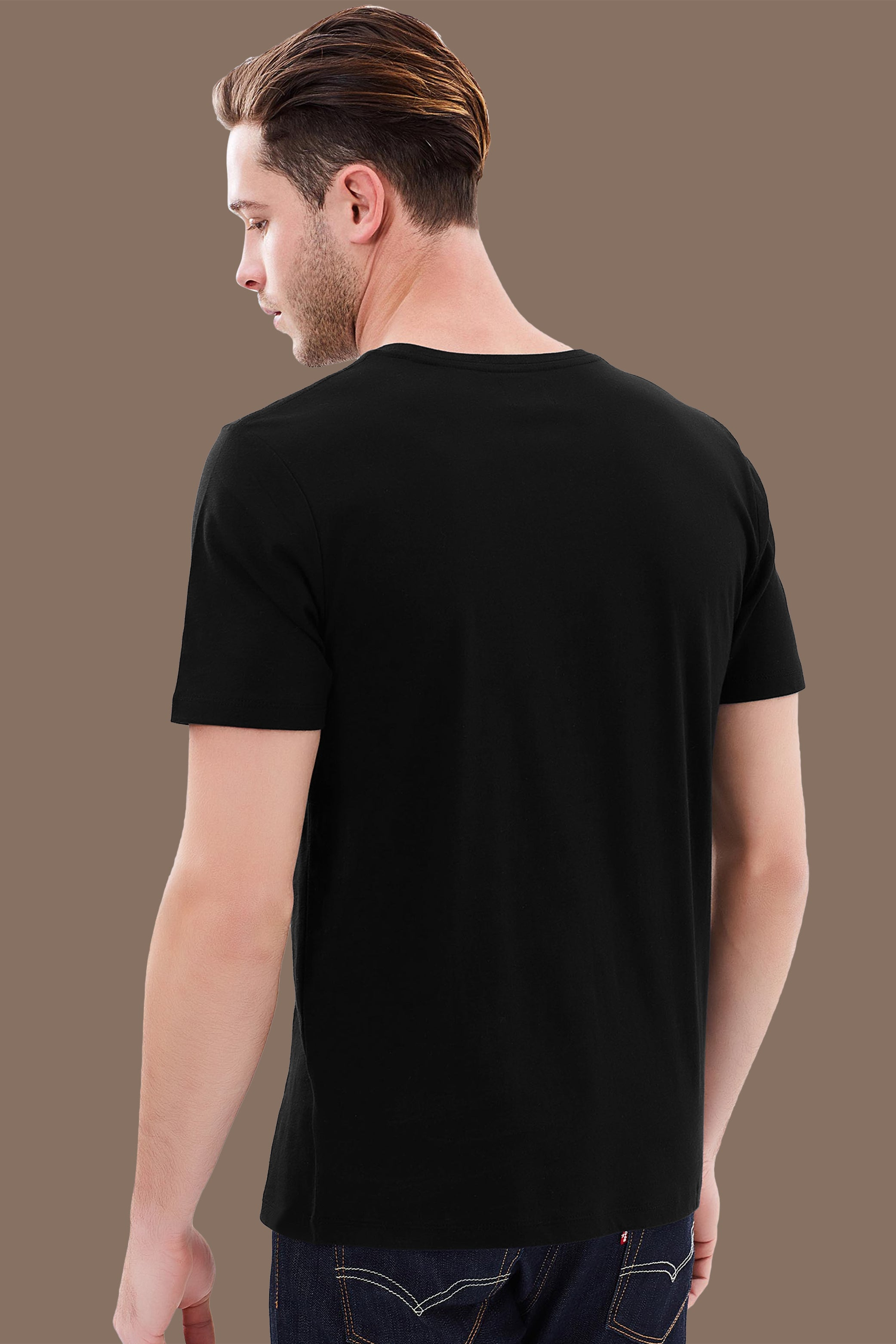 Beer Inside Black T-Shirt