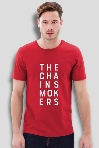 The Chainsmokers Red T-Shirt